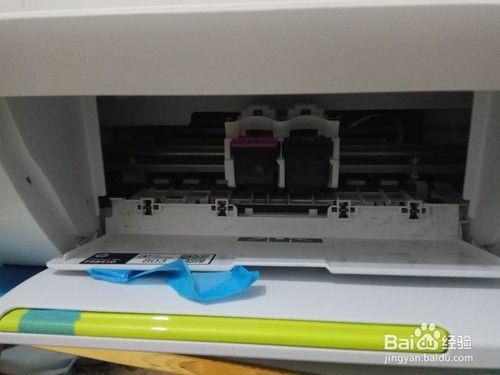 惠普打印机JET2132加墨水方法教程