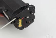 惠普136w国产硒鼓无法打印怎么办?更换原装硒鼓芯片。