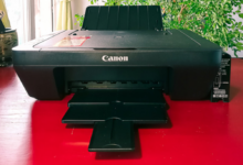 佳能MG3080打印机加墨水教程。