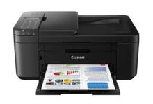 佳能TR4580打印机加墨水教程
