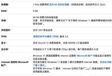 电脑升级windows11的常见问题汇总。